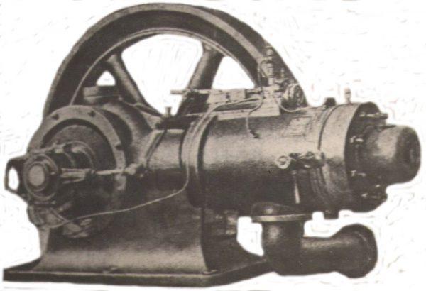 Нефтяный двигатель Метеор мощностью 24 л.с