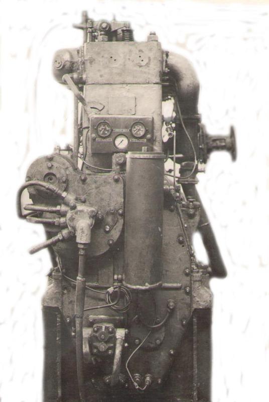 Газовый двигатель ГЧ18/26 мощностью 45 - 90 л.с.