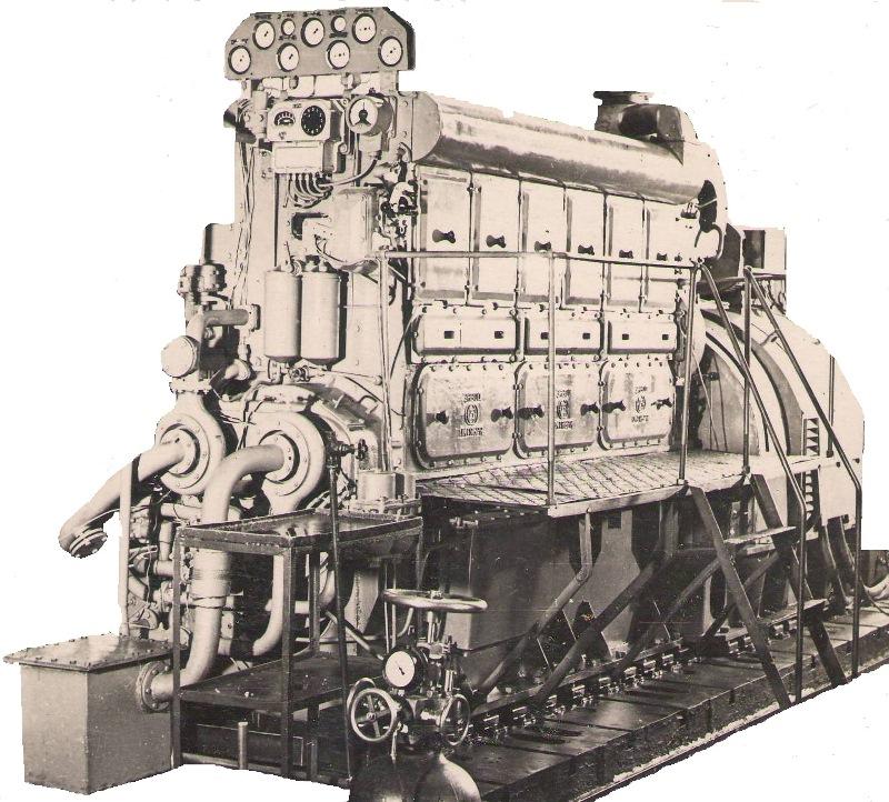 Судовой дизель-генератор ДГР300/500 мощностью 300 кВт