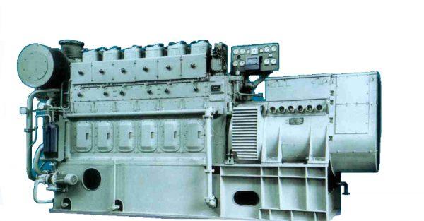 Судовой дизель-генератор ДГР800/750 мощностью 800 кВт
