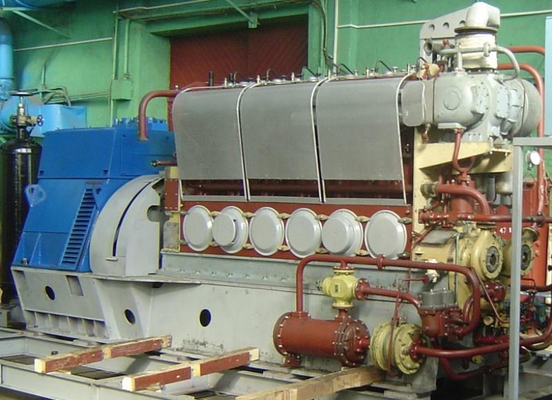 Стационарный дизель-генератор ДГА-315 на участке отгрузки