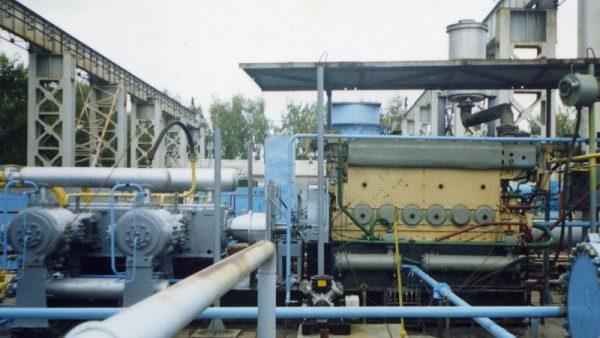 Газовый двигатель 6ГЧН25/34 для привода компрессора