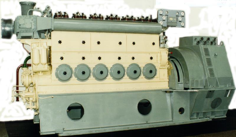 Стационарный дизель-генератор ДГА-500