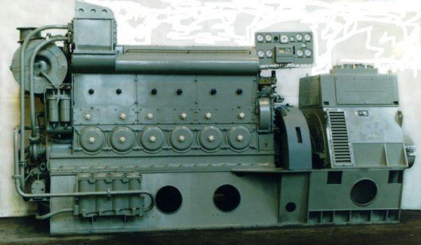Судовой дизель-генератор ДГРА320/500