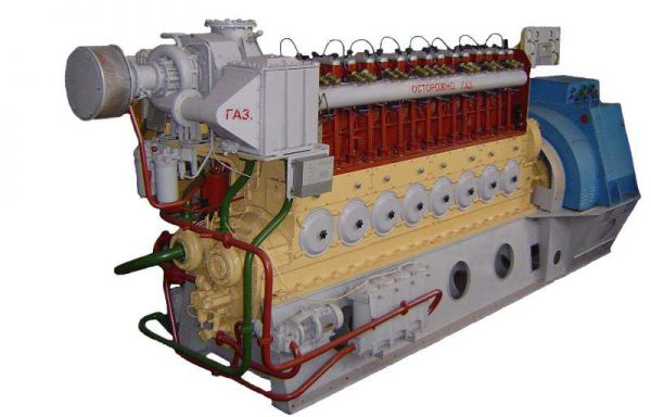 ДвГА-630 с использованием альтернативных видов топлива