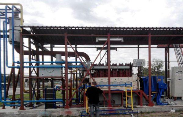 ДвГа-500 на биогазе происхождением из отходов сахарного производства и других растительных и биологических остатков
