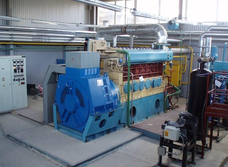 КГУ на базе ДвГА-500 во вновь построенном здании