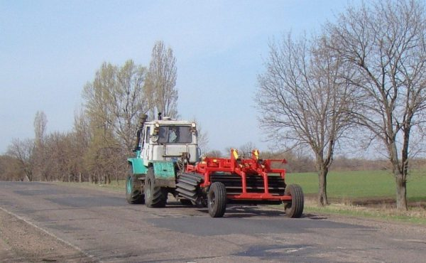 Каток 08КРН-6П транспортировка