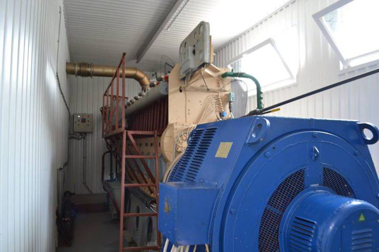 Біогазовий двигун-генератор ДвГА-630